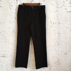 RALPH LAUREN BLACK PANTS  10